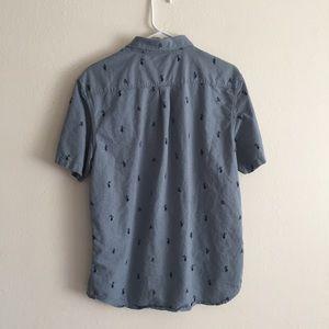 516d46bb5 Vans Shirts | Mens Houser Short Sleeve Button Down Shirt | Poshmark